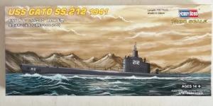 HOBBYBOSS 1/700 87012 USS GATO SS-212 1941
