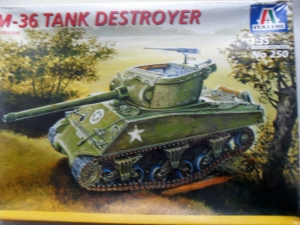 ITALERI 1/35 250 M-36 TANK DESTROYER