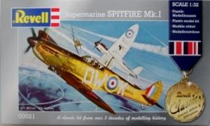 REVELL 1/32 00021 SUPERMARINE SPITFIRE Mk.I