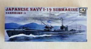 AFV CLUB 1/350 73506 JAPANESE I-19 SUBMARINE