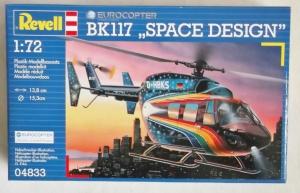 REVELL 1/72 04833 BK117 SPACE DESIGN