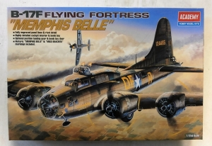ACADEMY 1/72 2188 B-17F FLYING FORTRESS MEMPHIS BELLE