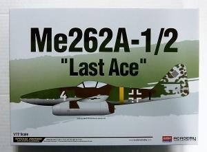 ACADEMY 1/72 12542 MESSERSCHMITT Me 262A-1/2 LAST ACE