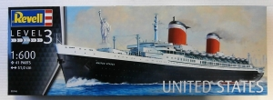 REVELL 1/600 05146 SS UNITED STATES