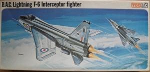 FROG 1/72 F266 BAC LIGHTNING F6