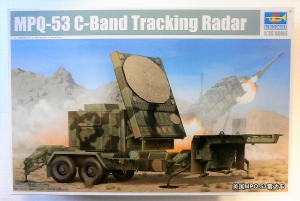 TRUMPETER 1/35 01023 MPQ-53 C-BAND TRACKING RADAR