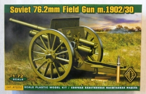 ACE 1/72 72252 SOVIET 76.2mm FIELD GUN M.1902/30