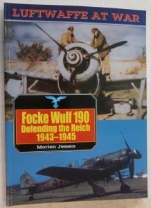 CHEAP BOOKS  ZB549 LUFTWAFFE AT WAR 13 Fw 190 DEFENDING THE REICH 1943-45