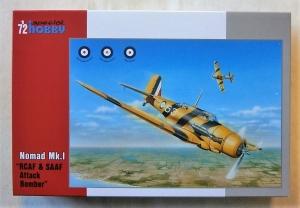SPECIAL HOBBY 1/72 72292 NOMAD Mk.I RCAF   SAAF ATTACK BOMBER
