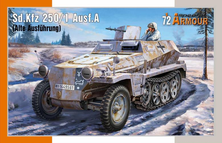 SPECIAL ARMOUR 1/72 72019 Sd.Kfz 250/1 Ausf.A