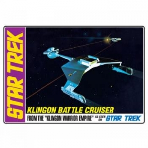 AMT OTHER SCALE 720 STAR TREK KLINGON BATTLE CRUISER