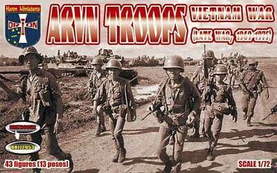 ORION 1/72 72052 ARVN TROOPS VIETNAM WAR  LATE WAR 1969-1975