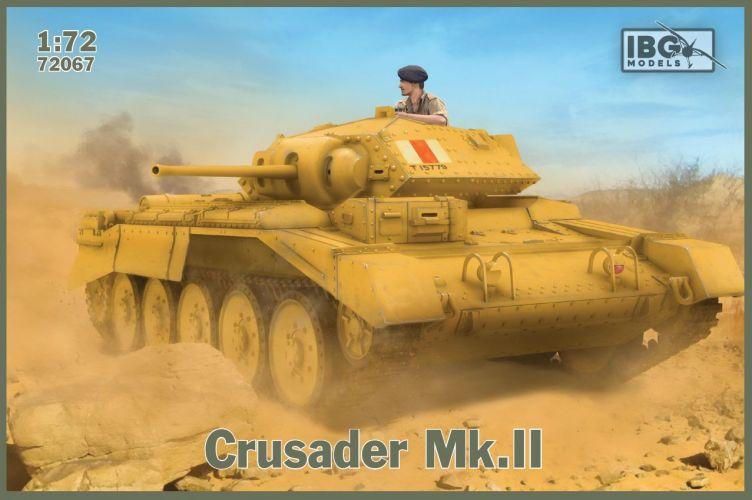 IBG MODELS 1/72 72067 CRUSADER MK.II BRITISH CRUISER TANK MK.VI