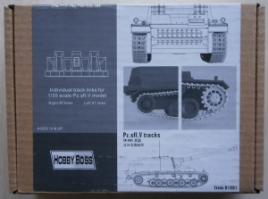 HOBBYBOSS 1/35 81001 Pz.sfl.V TRACKS