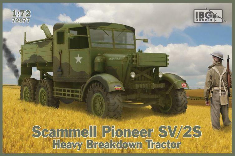 IBG MODELS 1/72 72077 SCAMMELL PIONEER SV/2S HEAVY BREAKDOWN TRACTOR