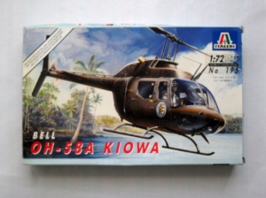 ITALERI 1/72 195 OH-58A KIOWA