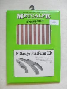 METCALFE  PN110 N GAUGE PLATFORM KIT- N GAUGE PLATFORM KIT
