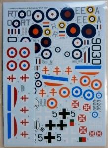 XTRADECAL 1/72 72215 BRISTOL BLENHEIM   BOLINGBROKE IV   IVF RAF   FOREIGN OPERATORS