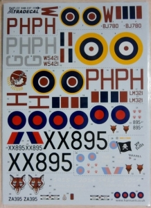 XTRADECAL 1/48 48137 HISTORY OF RAF 12th SQUADRON WWI - 2014