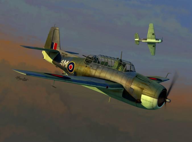 SWORD 1/72 72137 Grumman Tarpon MK.I