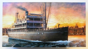 MENG 1/150 OS-001 THE CROSSING STEAMER TAIPING  UK SALE ONLY