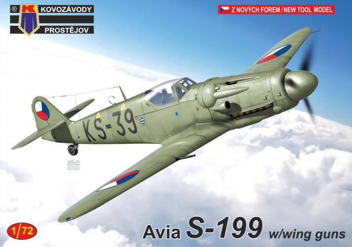 KP 1/72 0218 Avia S-199 W/WING GUNS