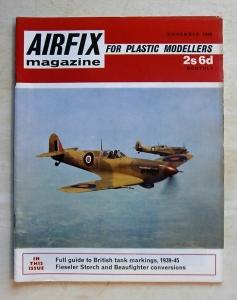 AIRFIX  AIRFIX MAGAZINE 1968 NOVEMBER