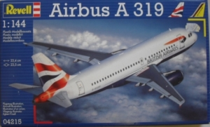REVELL 1/144 04215 AIRBUS A319 BRITISH AIRWAYS