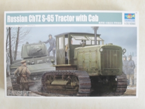 TRUMPETER 1/35 05539 RUSSIAN ChTZ S-65 TRACTOR WITH CAB