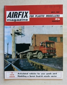 AIRFIX  AIRFIX MAGAZINE 1967 JULY