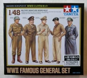 TAMIYA 1/48 32557 WWII FAMOUS GENERALS SET