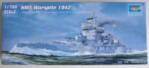 TRUMPETER 1/700 05795 HMS WARSPITE 1942