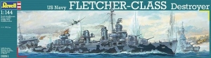 REVELL 1/144 05091 FLETCHER CLASS DESTROYER  UK SALE ONLY