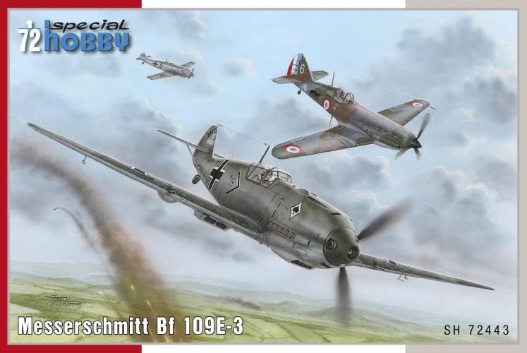 SPECIAL HOBBY 1/72 72443 Messerschmitt Bf-109E-3