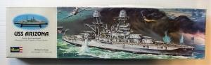 REVELL  H-302 USS ARIZONA BATTLESHIP