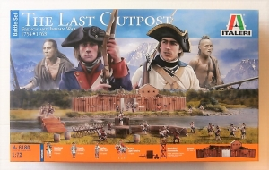 ITALERI 1/72 6180 THE LAST OUTPOST FRENCH AND INDIAN WAR 1754-1763