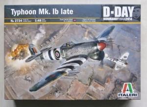 ITALERI 1/48 2734 TYPHOON Mk.IB LATE