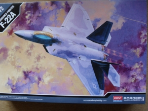 1/72 12423 F-22A AIR DOMINANCE FIGHTER