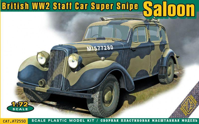 ACE 1/72 72550 BRITISH WW2 STAFF CAR SUPER SNIPE SALOON