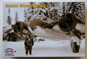 MPM 1/72 72500 BRISTOL BLENHEIM Mk.I