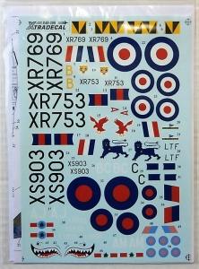 XTRADECAL 1/48 48099 EE LIGHTNING F.Mk.6