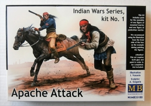 MASTERBOX 1/35 35188 INDIAN WARS SERIES No.1 APACHE ATTACK