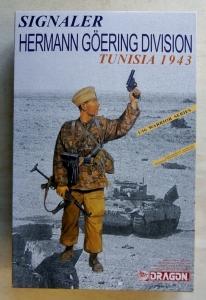 DRAGON 1/16 1608 SIGNALER HERMAN GOERING DIVISION TUNISIA 1943