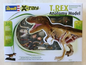 REVELL  02091 T-REX ANATOMY MODEL