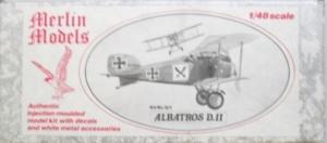 MERLIN 1/48 Q1 ALBATROS D.II