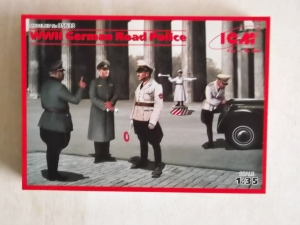 ICM 1/35 35633 WWII GERMAN ROAD POLICE