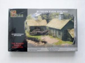 PEGASUS HOBBIES 1/72 7702 RUSSIAN FARM HOUSES