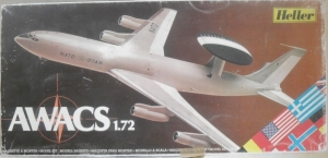HELLER 1/72 80306 E-3A AWACS  UK SALE ONLY