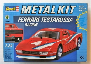 REVELL 1/24 8704 FERRARI TESTAROSSA RACING METAL KIT