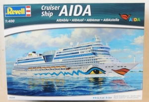 REVELL 1/400 05230 AIDA CRUISER SHIP  UK SALE ONLY